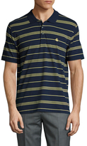 Brooks Brothers Jersey Triple Striped Polo