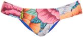 Mara Hoffman Flora Blue-print bikini briefs