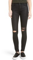 Blank NYC BLANKNYC 'All Lacquered Up' Coated Skinny Jeans