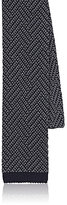 Boglioli MEN'S CHEVRON-KNIT SILK NECKTIE