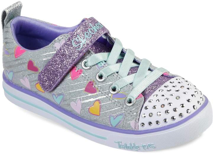 Twinkle Toes Shuffles Sparkle Lite Girls' Light Up Shoes