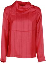 Each X Other Pinstriped Blouse
