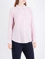 Rails Sydney striped linen-blend shirt