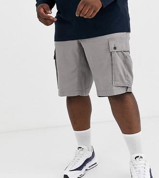 Tommy Hilfiger Big & Tall John cargo shorts in grey