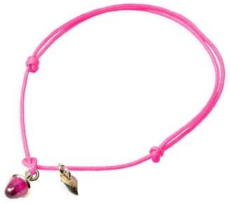 Tamara Comolli My Mikado 18K Yellow Gold & Tourmaline Sliding Knot Cord Bracelet
