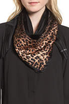 Vince Camuto Ombr? Leopard Silk Scarf