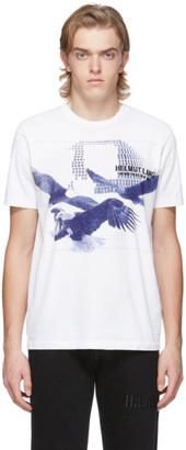 Helmut Lang White Eagle Standard T-Shirt
