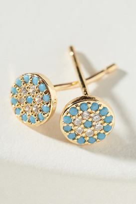 Anthropologie Nadia Post Earrings By in Blue Size ALL