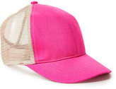 David & Young Ponyflo By Ponyflo by Girls' Baseball Caps HOT - Hot Pink Ponyflo Trucker Hat- Kids