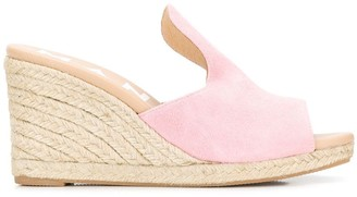 Manebi Wedge Mules