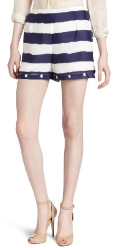 BCBGMAXAZRIA BCBGeneration Women's Loop and Button Short