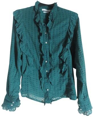 Etoile Isabel Marant Green Cotton Tops