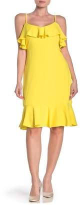 Trina Turk trina Mosey Ruffled Sleeveless Flounce Dress