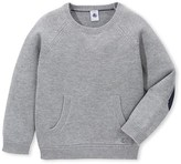 Petit Bateau Boys wool and cotton knit sweater