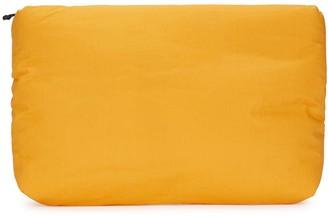 Kassl Editions Orange padded canvas clutch