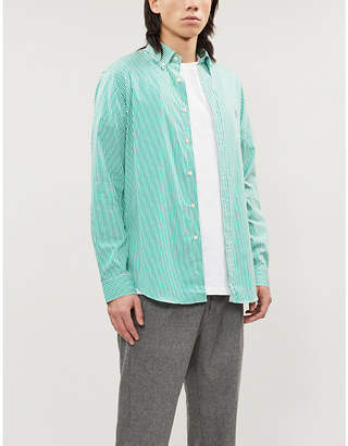 Polo Ralph Lauren Striped slim-fit cotton-poplin shirt