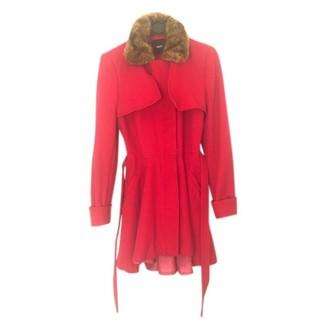 Asos Pink Wool Coat for Women