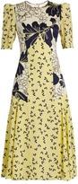 Roksanda Thalia floral-print silk crepe de Chine dress