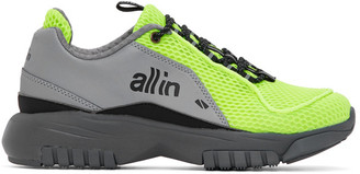 all in Green and Grey ID Shoes