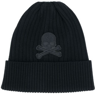 Philipp Plein Skull Patch Beanie