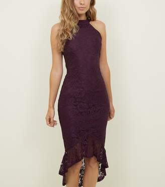 New Look AX Paris Fishtail Lace Dress