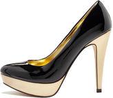 Unlisted Shoes, Writers Block Platform Pumps