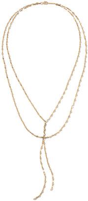 Lana 14k Mega Gloss Blake Double-Chain Necklace