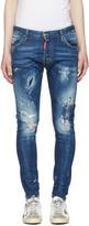DSQUARED2 Blue Sexy Twist Jeans