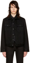 A.P.C. Black Denim Benjamin Jacket