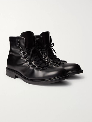 Mr P. Heath Shearling-Lined Leather Boots