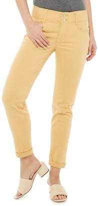 Apt. 9 Women's Tummy Control Ankle Jeans