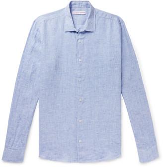 Orlebar Brown Giles Slim-Fit Slub Linen Shirt