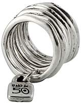 Uno de 50 Stacked Lock Ring