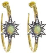 Arman Opal Star Hoop Earrings