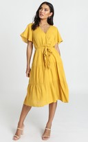 Showpo Fight The Feeling Dress in mustard - 6 (XS) Casual Outfits
