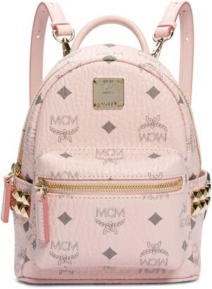 MCM X-Mini Stark Side Stud Convertible Backpack