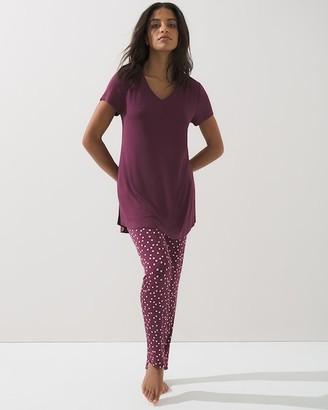 Soma Intimates Cool Nights Long Over Lean Pajama Set