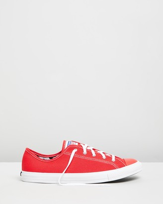 Converse Chuck Taylor All Star Dainty Double License Plate - Women's