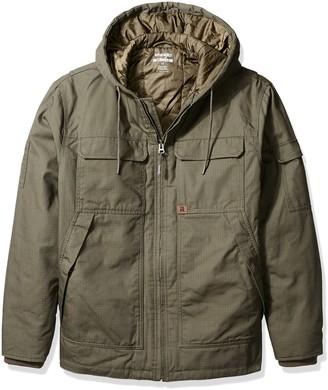 Wrangler Riggs Workwear Men's Big & Tall Hooded Ranger Jacket
