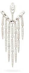Yvonne Léon Diamond & 18kt White-gold Single Earring - Crystal
