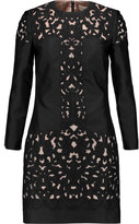 Temperley London Luz embroidered silk-blend mini dress