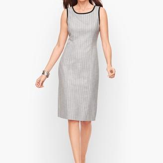 Talbots Westport Tweed Sheath Dress