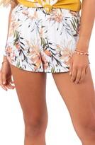Rip Curl Playa Blanca Floral Print Shorts