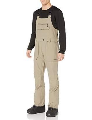 Volcom mensG1351909Roan Bib Overall Snow Pant Snow Pants - Brown