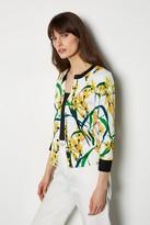 Trialling Oriental Print Knitwear
