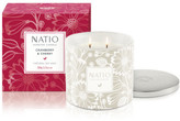 Natio CRANBERRY & CHERRY FESTIVE SCENTED CANDLE