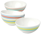Dansk Cabana Stripe Melamine 4-Pc. Party Bowl Set