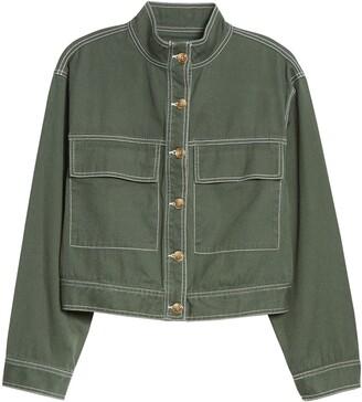 Ten Sixty Sherman Crop Utility Jacket