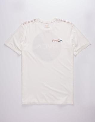 RVCA Blind Motors White Mens T-Shirt