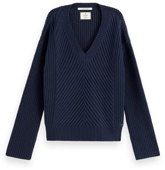 Maison Scotch Chunky Knit Rib Night - xsmall
